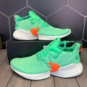 Adidas Alphabounce Instinct Shock Lime Green Shoe